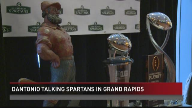 Spartans hold winter tailgate in Grand Rapids