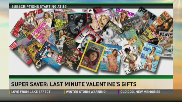 Super Saver: last minute Valentine's Day gifts