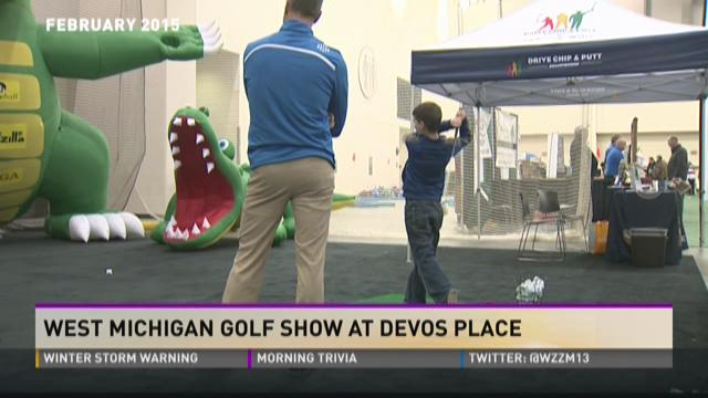 West Michigan Golf Show coming to Devos Place