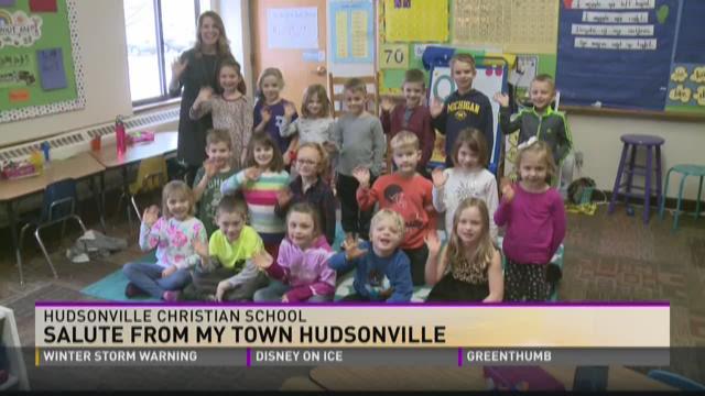 Friday Salute - Hudsonville Christian School