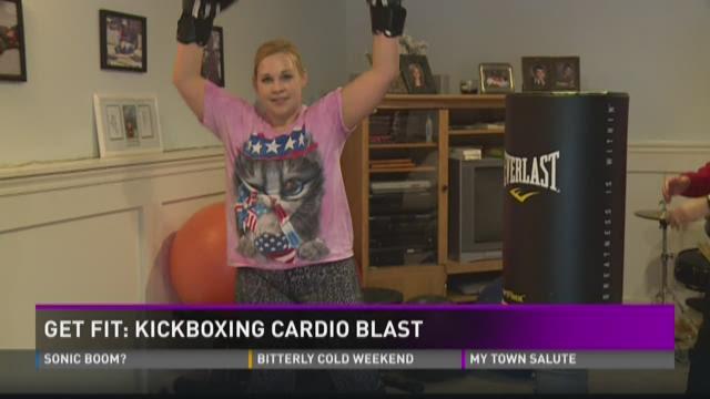 Get Fit: Kickboxing cardio blast