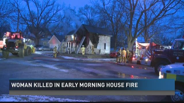 Woman killed in early morning house fire