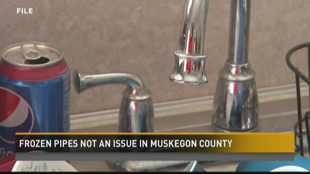 Frozen pipes not an issue this winter in Muskegon County