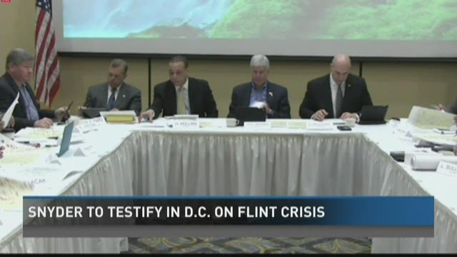 Gov. Snyder to testify in DC about Flint water crisis