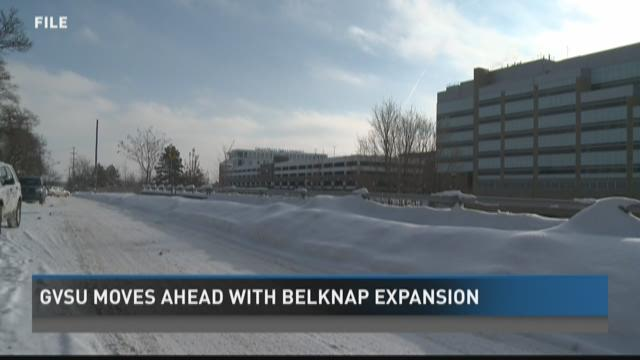 GVSU moving forward with planned Belknap expansion