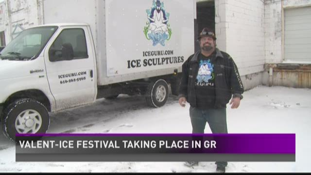 Valent-ICE Festival this weekend in Grand Rapids