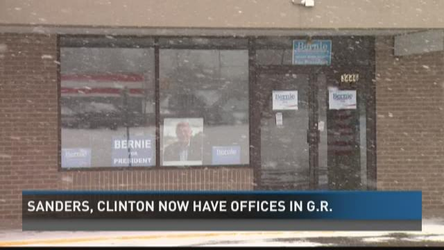 Democratic presidential candidates opening Grand Rapids campaign offices