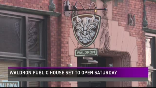 Waldron Public House opening Saturday