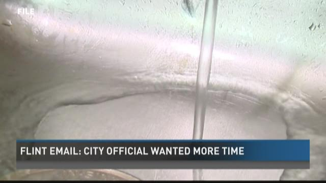 Flint email: City official wanted more time to work on water switch