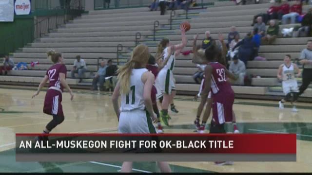 Muskegon girls basketball beats Reeths-Puffer