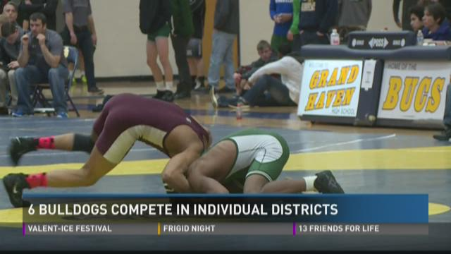 6 Bulldogs compete in individual districts