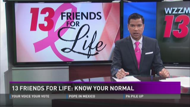 13 Friends For Life: Know Your Normal