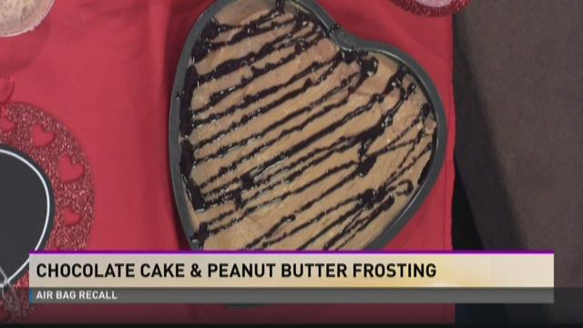 Gina's Chocolate Cake and Peanut Butter Frosting