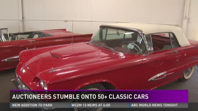More than 50 classic cars found hidden inside Grand Rapids barn