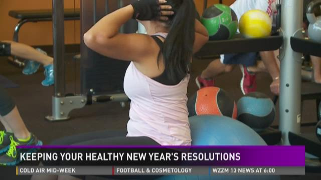 Keep your Healthy New Year's Resolutions
