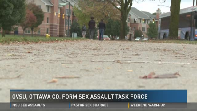 GVSU, Ottawa Co. form Sex Assault Task Force | WZZM13.com