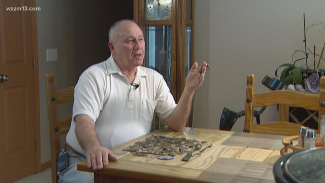 FOUND! WWI dog tags dug from the dirt, man hopes descendants come forward
