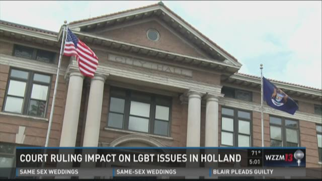 Holland leader on gay rights:  'We still have an issue'