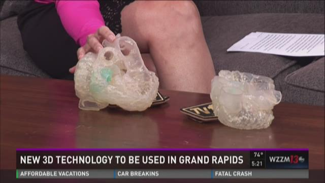 3D printing put to work at Helen DeVos Children's Hospital