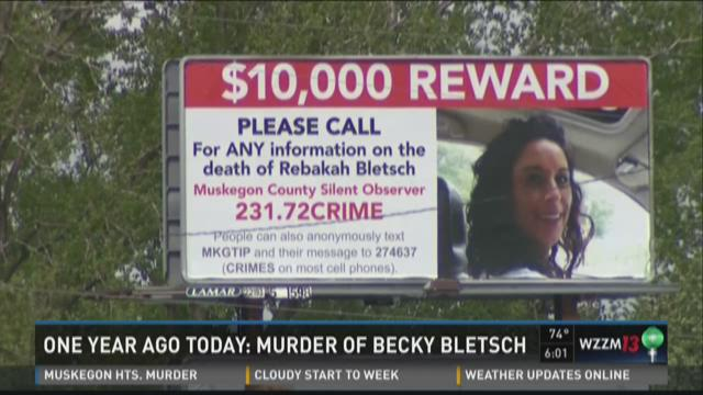 Rebekah Bletsch murder investigation continues, one year later