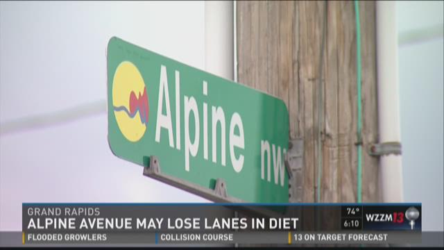Alpine Avenue may go on road diet