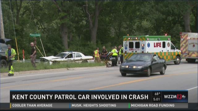 Dozing Hummer driver strikes Kent Co. deputy's cruiser