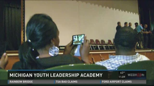 17 Muskegon High students graduate Mich. Youth Leadership Academy