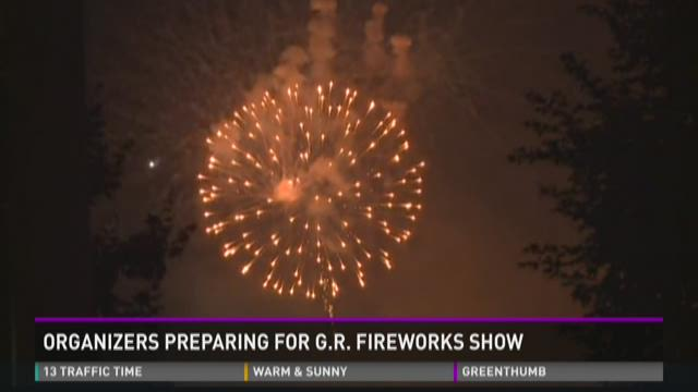 Organizers preparing for G.R. fireworks show 2