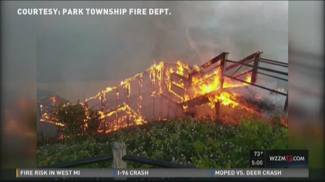 Tunnel Park fire deemed suspicious