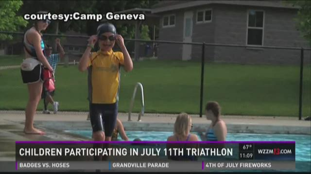 Kids to participate in July 11 triathalon