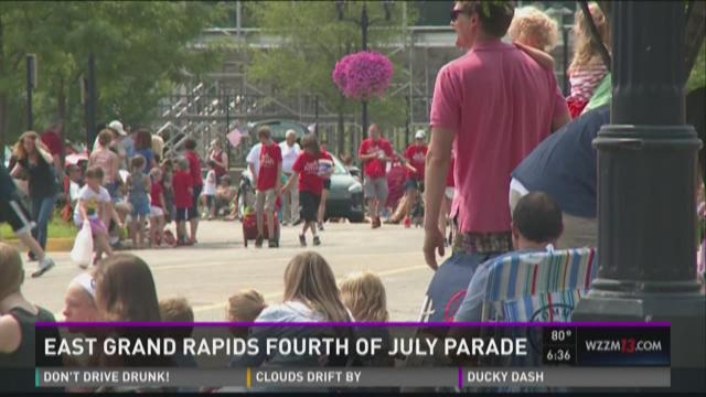 East Grand Rapids 4th of July parade