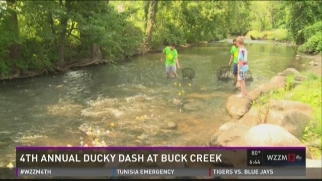4th annual Ducky Dash at Buck Creek