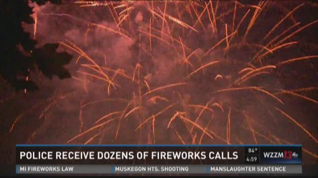 Fourth of July leads to dozens of fireworks complaints