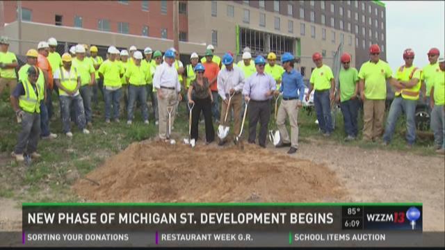 Developer breaks ground on new Medical Mile apartments
