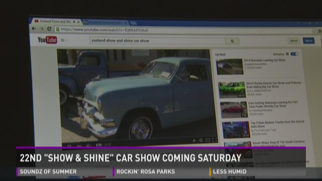 """22nd """"Show and Shine"""" car show on Saturday"""