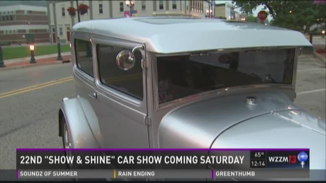Show and Shine car show Saturday