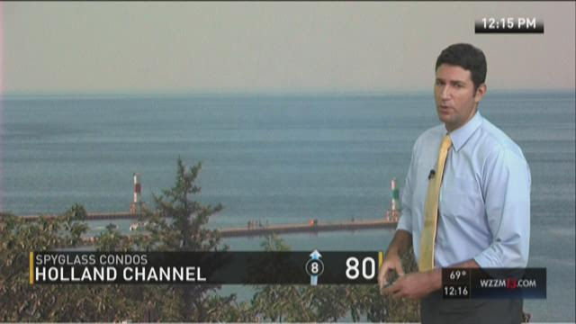 Afternoon forecast: Another chance at 90