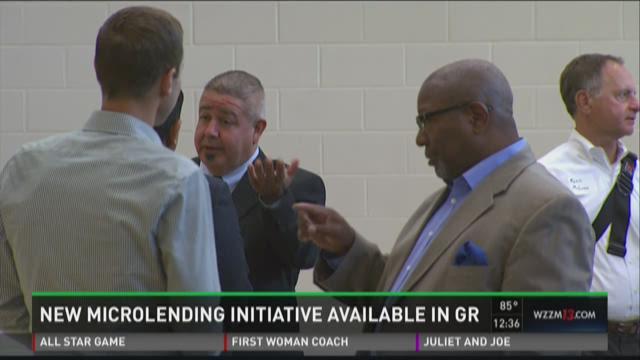 New microloan initiative in Grand Rapids
