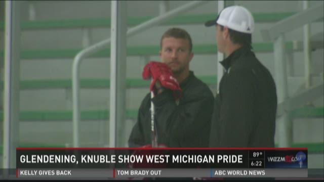 Glendening, Knuble show West Michigan pride