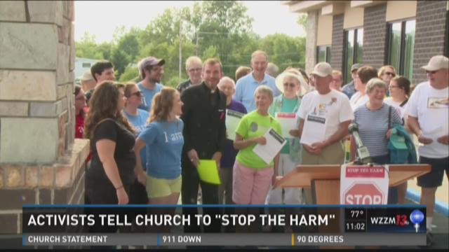 Gay pastor speaks out over forced resignation