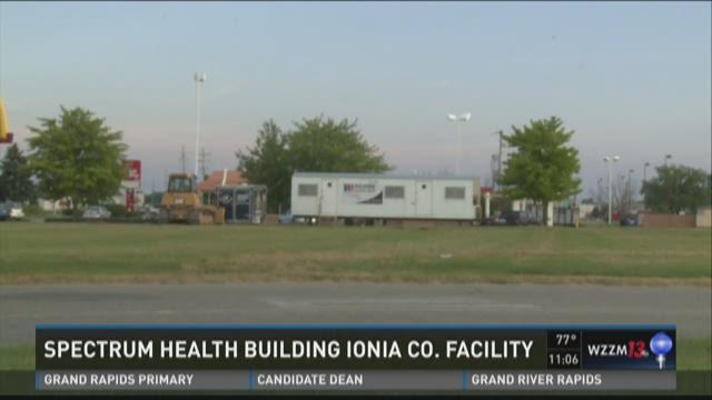 Spectrum Health building integrated care campus in Ionia Co.