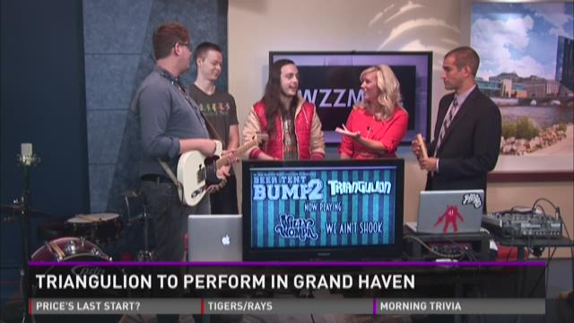 Triangulion to perform in Grand Haven