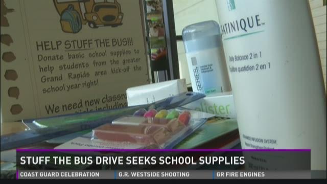 Stuff the Bus drive seeks school supplies