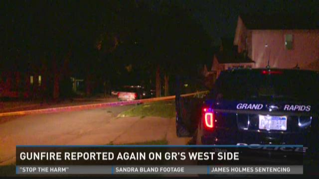 Gunfire reported again on GR's west side