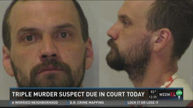 Triple-murder suspect bound over for trial in Allegan Co. court