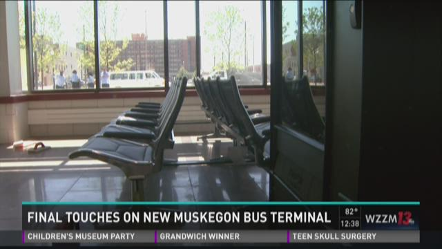 New Muskegon bus terminal opens Saturday