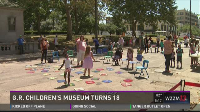 Children's Museum turns 18