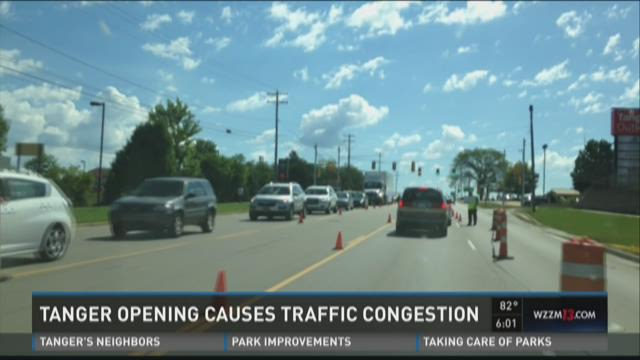 Traffic congestion with Tanger opening