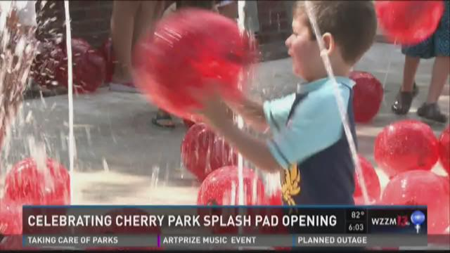 Cherry Park Splash Pad opens