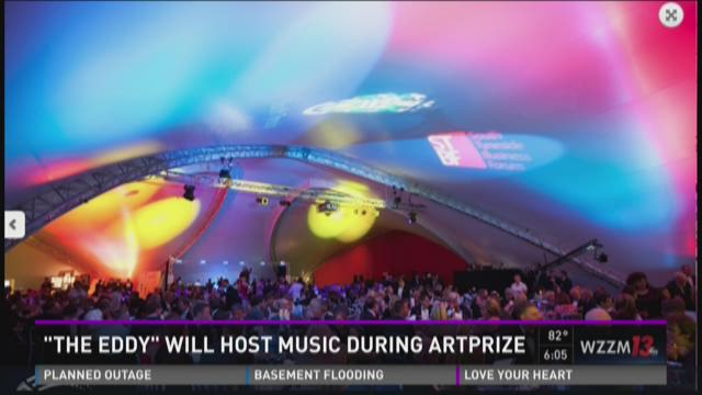 The Eddy will host music during Artprize